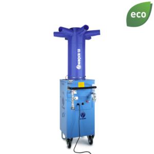 Hetvattenfläkt 30kW