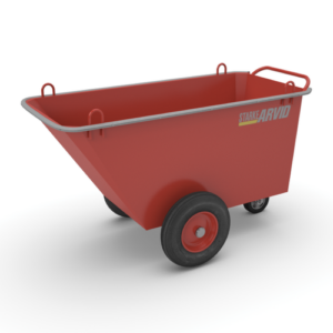 Fodervagn, sop- & avfallsvagn 500 kg