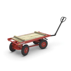 Transportvagn 1500 kg, 1800 mm, höj- & sänkbar
