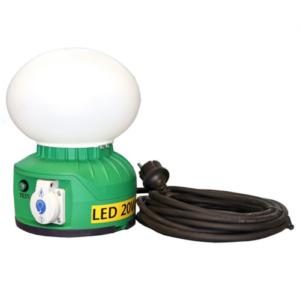 Globlampa Nöd 230V LED