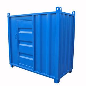 Valvcontainer med klass 4 lås